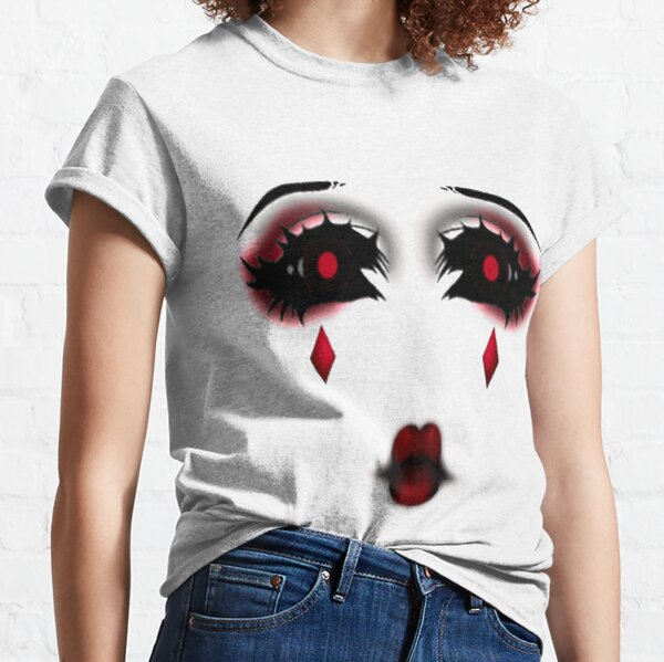 Roblox Face Women S T Shirts Tops Redbubble