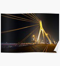 Aomori Bay Bridge Poster