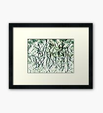 Paper Abstract # 2 Framed Print