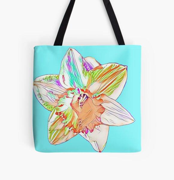 DaffodilBloom All Over Print Tote Bag