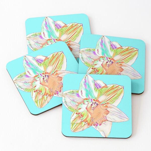 DaffodilBloom Coasters (Set of 4)