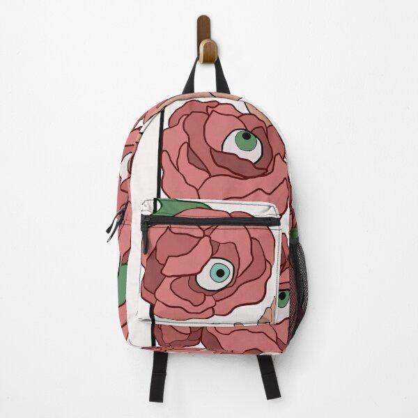Flowers with eyeballs Backpack