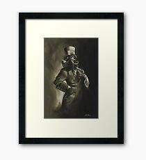 Dapper Cthulhu Framed Print