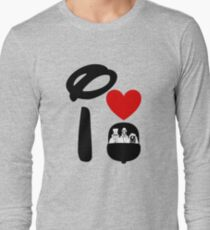 I Heart Haunted Mansion Long Sleeve T-Shirt