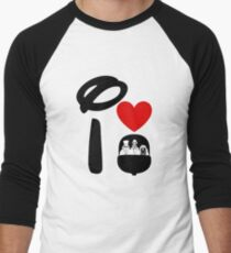 I Heart Haunted Mansion Men's Baseball ¾ T-Shirt