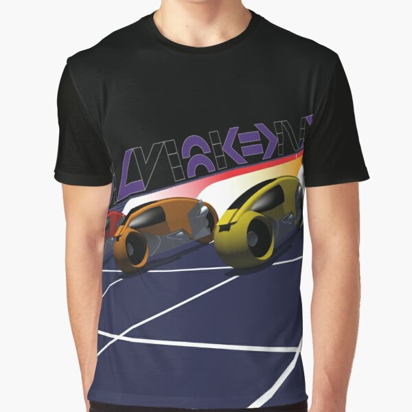 TRON Lightcycle racing grid Graphic T-Shirt