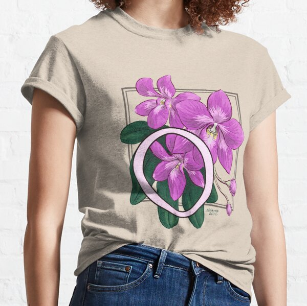 O is for Orchid Classic T-Shirt