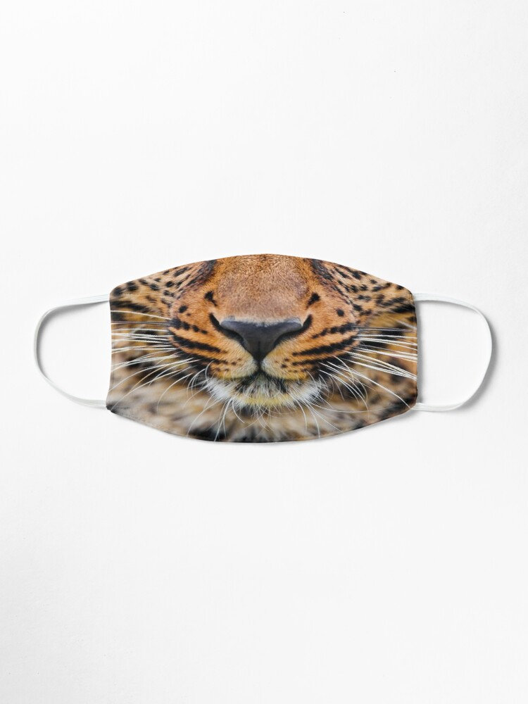 Alternate view of Leopard Mask