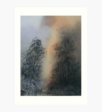 Rainbows End Art Print