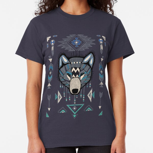 The Lakota T-Shirt//Tribe//Native American//Wolf//Howling//Tribal//Tattoo//Indians//Top
