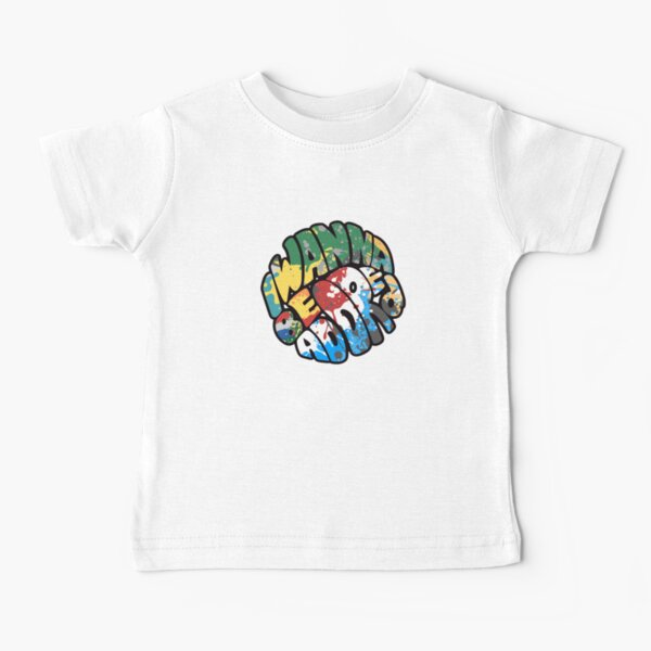 The Stone Roses I Wanna Be Adored Madchester Ian Brown Manchester Lyric Design Baby T-Shirt