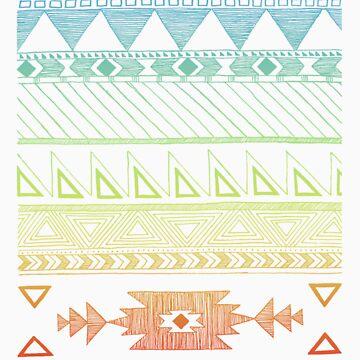 Native American Geometric Pattern by Mangeshig
