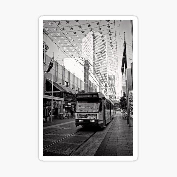Take the 96 Tram toward East Brunswick Sticker