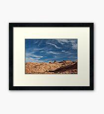 Escalante Skies Framed Print