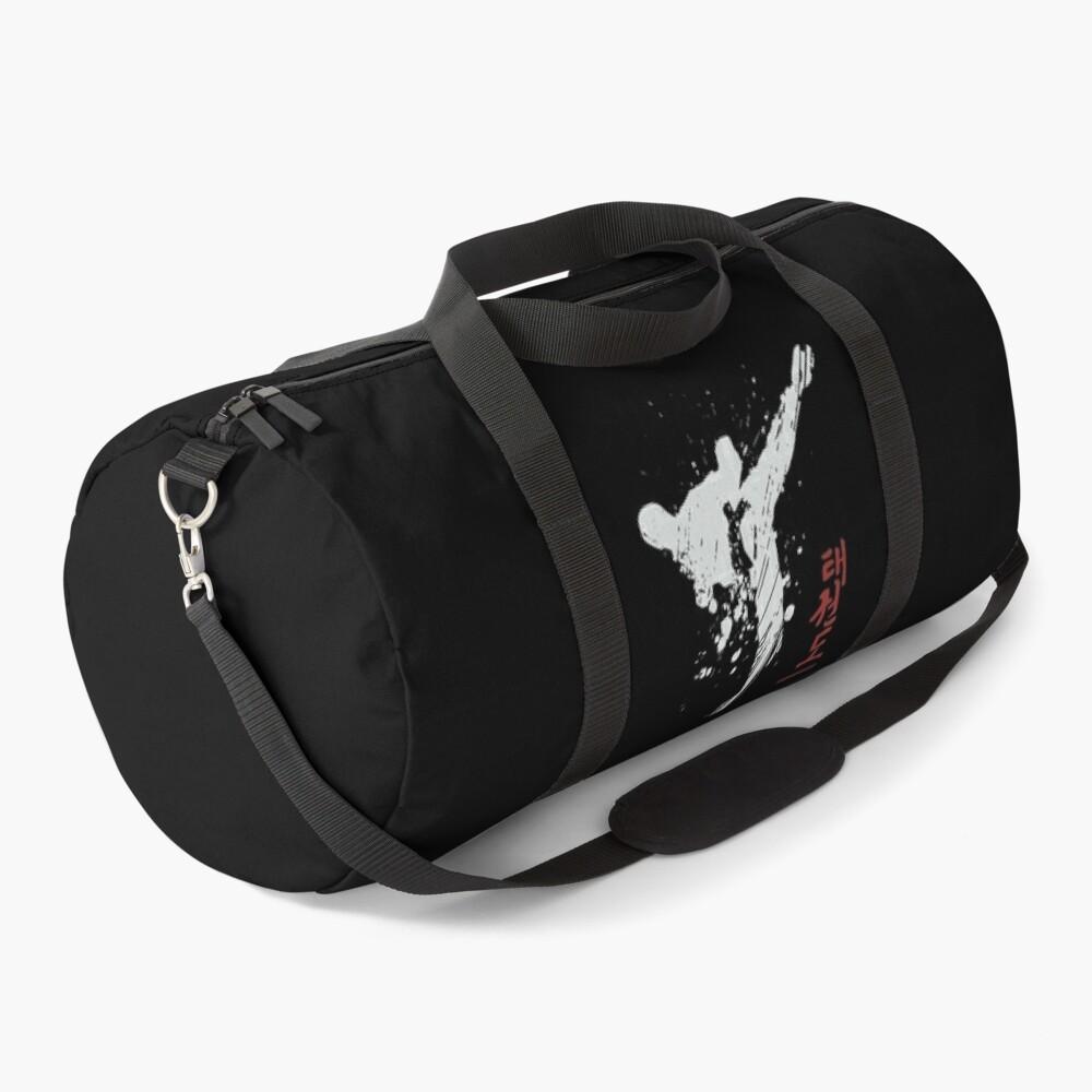 Taekwondo Kick, Martial Arts, taekwoon do Duffle Bag