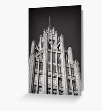 Manchester Unity Tower Greeting Card