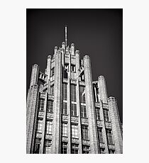 Manchester Unity Tower Photographic Print
