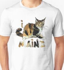 I LOVE MAINE T-shirt Unisex T-Shirt