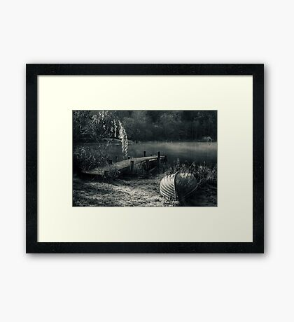 Mist On Loch Ard Framed Print