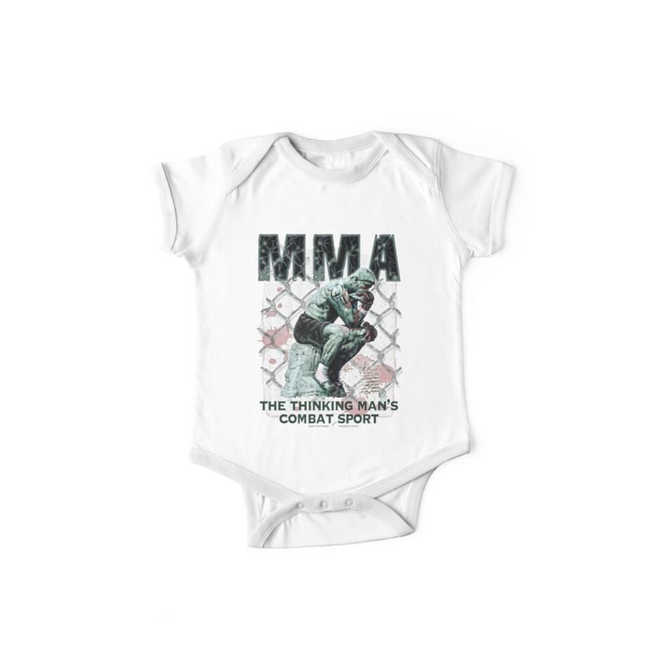 MMA The Thinking Man's Combat Sport by MudgeStudios