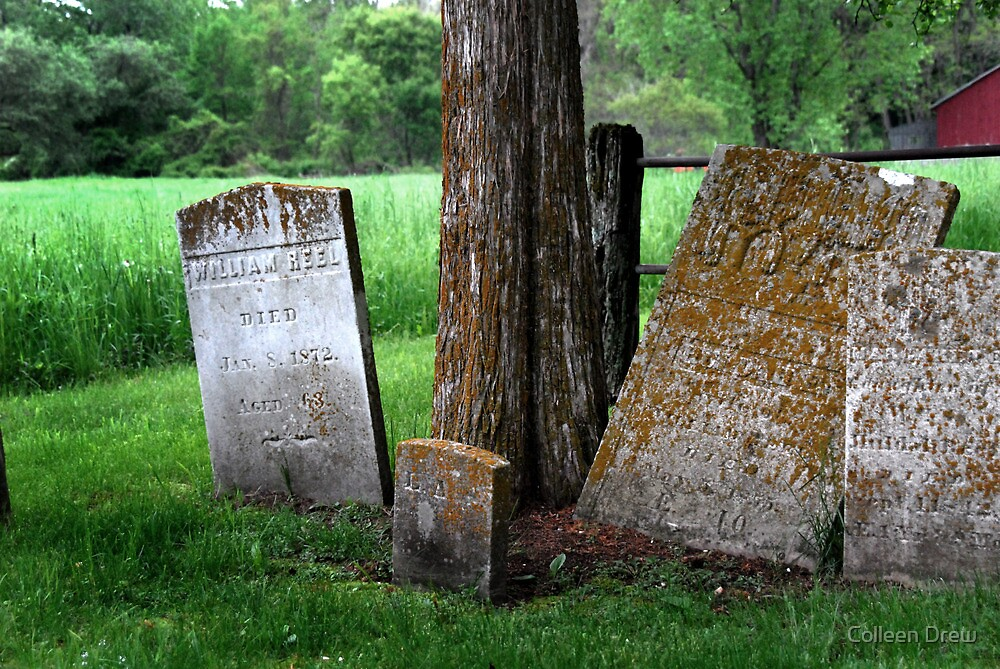 Old Graves in Connecticut by Colleen Drew