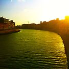 Pisa Sunset by philipmatthews5