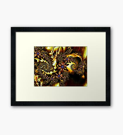 Festive Autumn Framed Print