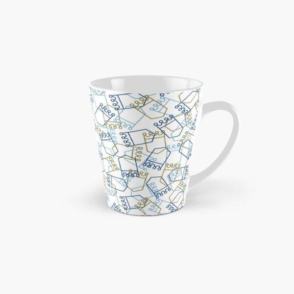 Royals Shield Pattern, White Background Tall Mug