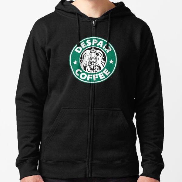 Despair Coffee / Danganronpa Zipped Hoodie