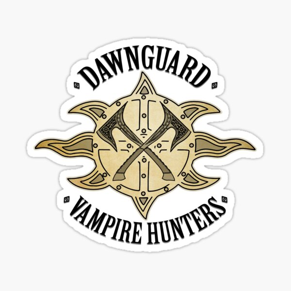 Dawnguard - Vampire Hunters Sticker