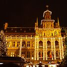Antwerp Townhall by Gilberte