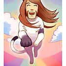 Toki cat by Okha