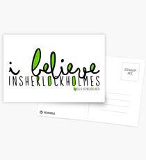 I Believe in Sherlock Holmes. Postcards