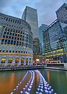 Canary Wharf - London HDR - 1 by Colin  Williams Photography