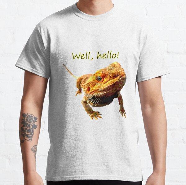 Bearded Dragon Says Hello Classic T-Shirt