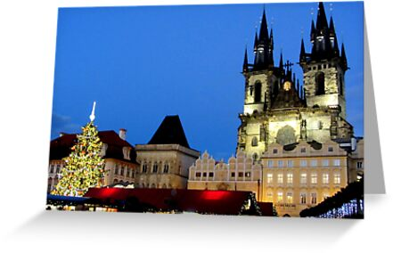 Christmas magic at Prague by bubblehex08