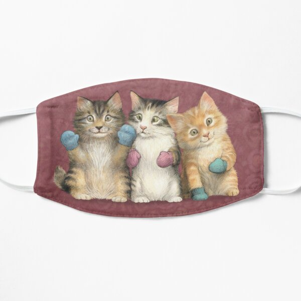 Kittens in Mittens Small Mask