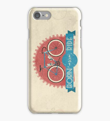 Born To Ride iPhone Case/Skin