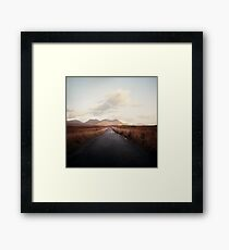 Way Framed Print
