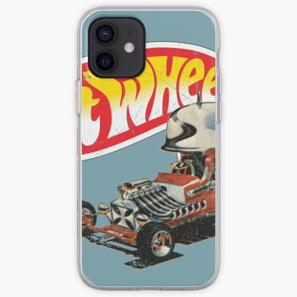"""Vintage Style Hot Wheels """"Roter Baron"""" iPhone Flexible Hülle"""
