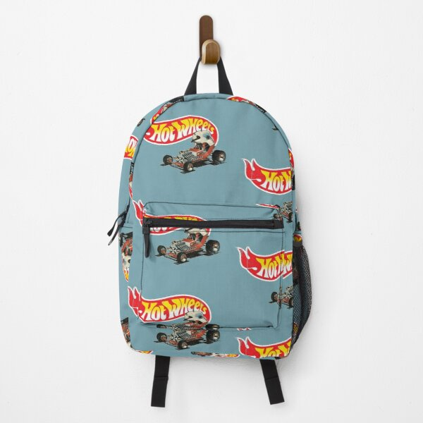 """Vintage Style Hot Wheels """"Red Baron"""" Backpack"""