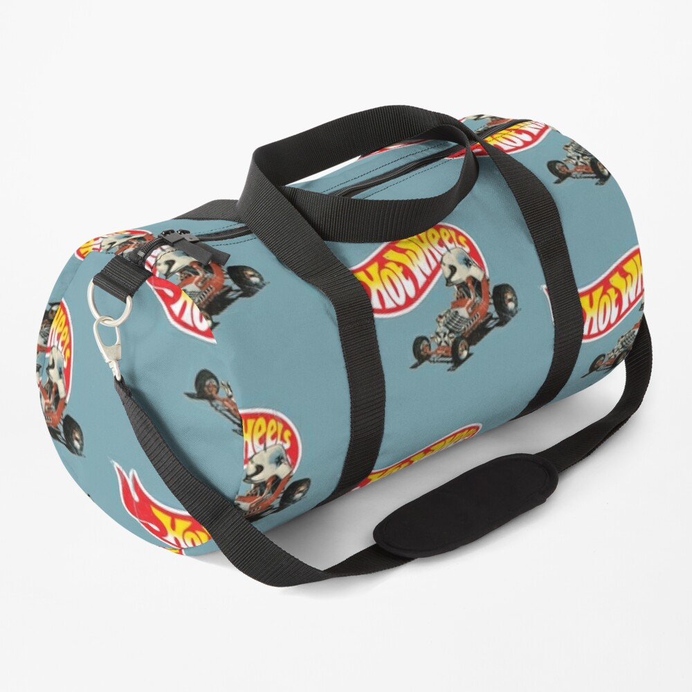"""Vintage Style Hot Wheels """"Red Baron"""" Duffle Bag"""
