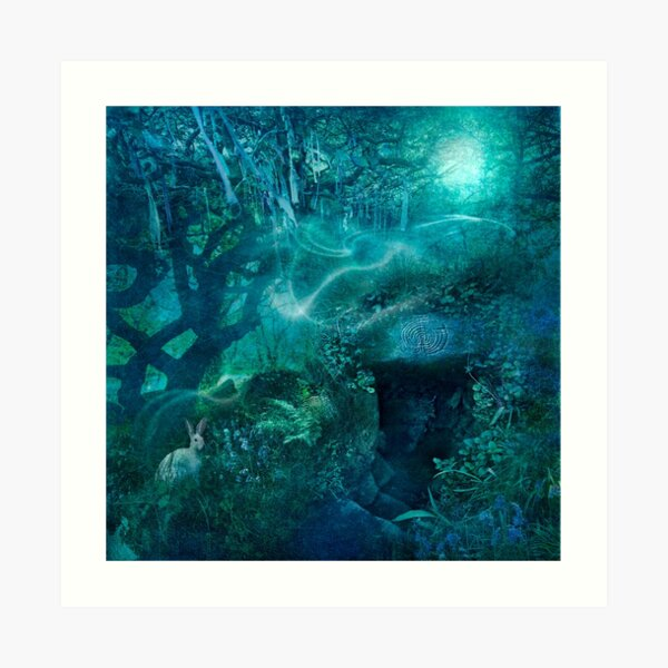 Cornish Holy Well Art Print