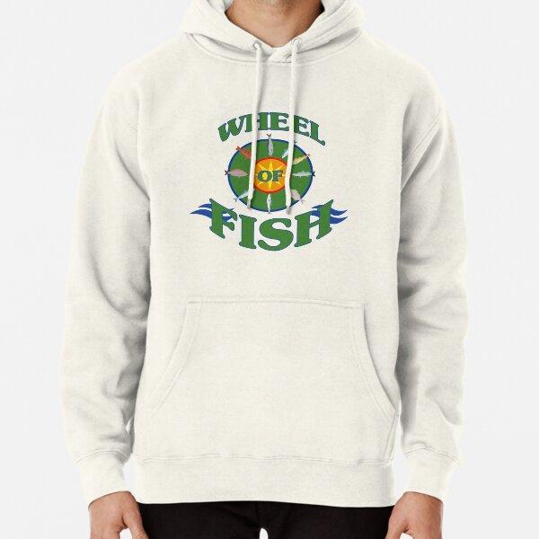 Wheel of Fish Pullover Hoodie