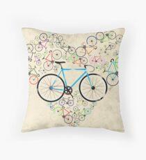 I Love My Bike Kissen