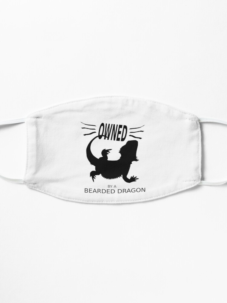 Alternate view of Owned By A Bearded Dragon Mask