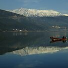 Christmas Eve on Lake Pamvotis by Themis