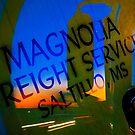 Magnolia Freight Service by Thomas Eggert