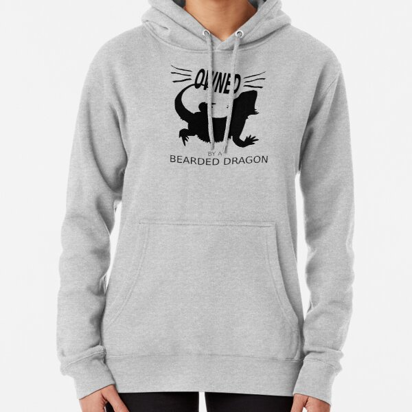 Owned By A Bearded Dragon Pullover Hoodie