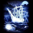 """High-Voltage Ghost Ship"" by BryanLanier"
